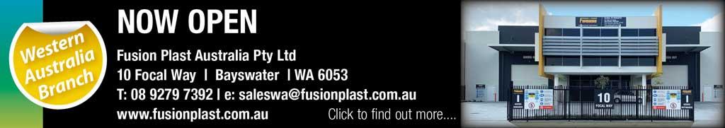 Fusion Plast Australia opens depot in Western Australia